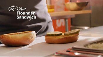 Popeyes Cajun Flounder Sandwich TV Spot, 'What's Not to Love?' - Thumbnail 4