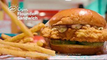Popeyes Cajun Flounder Sandwich TV Spot, 'What's Not to Love?' - Thumbnail 7