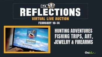 DSC Foundation Reflections Virtual Live Auction TV Spot, 'Register and Start Bidding'