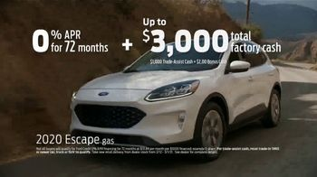 Ford Presidents Day Sellathon TV Spot, 'Come In: Escape' [T2] - Thumbnail 4