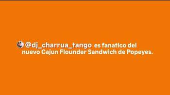 Popeyes Cajun Flounder Sandwich TV Spot, 'Fanatico' [Spanish]