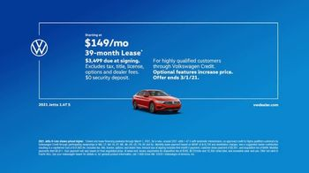 2021 Volkswagen Jetta TV Spot, 'Standard Turbocharged Engine' [T2] - Thumbnail 7