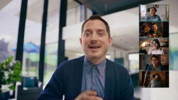 AT&T Internet TV Spot, 'Super Fan: Fiber + TV for $84.99 per Month' Featuring Elijah Wood