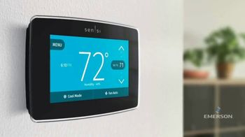 Emerson Electric Co. Sensi Smart Thermostat TV Spot, 'Increased Efficiency and Home Comfort' - Thumbnail 4