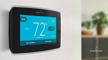 Emerson Electric Co. Sensi Smart Thermostat TV Spot, 'Increased Efficiency and Home Comfort' - Thumbnail 5