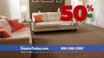 Empire Today 50-50-50 Sale TV Spot, 'Empire's Biggest Sale Makes Getting New Floors Easy' - Thumbnail 3