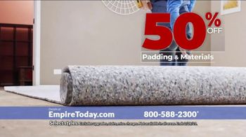 Empire Today 50-50-50 Sale TV Spot, 'Empire's Biggest Sale Makes Getting New Floors Easy' - Thumbnail 4