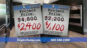 Empire Today 50-50-50 Sale TV Spot, 'Empire's Biggest Sale Makes Getting New Floors Easy' - Thumbnail 6