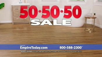 Empire Today 50-50-50 Sale TV Spot, 'Empire's Biggest Sale Makes Getting New Floors Easy' - Thumbnail 7