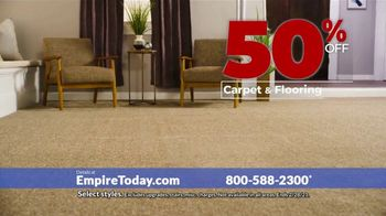 Empire Today 50-50-50 Sale TV Spot, 'Empire's Biggest Sale Makes Getting New Floors Easy' - Thumbnail 8