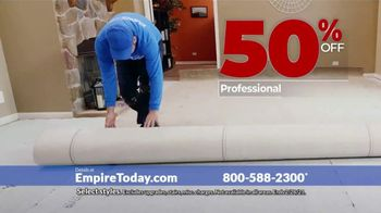 Empire Today 50-50-50 Sale TV Spot, 'Empire's Biggest Sale Makes Getting New Floors Easy' - Thumbnail 9