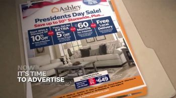 Ashley HomeStore Presidents Day Sale TV Spot, 'Authorized: Up to 50% Off' - Thumbnail 3