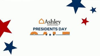 Ashley HomeStore Presidents Day Sale TV Spot, 'Authorized: Up to 50% Off' - Thumbnail 4