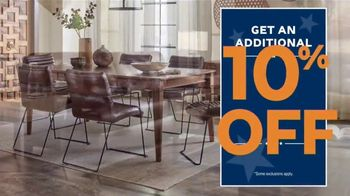 Ashley HomeStore Presidents Day Sale TV Spot, 'Authorized: Up to 50% Off' - Thumbnail 7