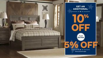 Ashley HomeStore Presidents Day Sale TV Spot, 'Authorized: Up to 50% Off' - Thumbnail 8