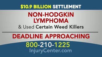 Danziger & De Llano TV Spot, '$10.9 Billion Settlement for Cancer Due to Weed Killer'
