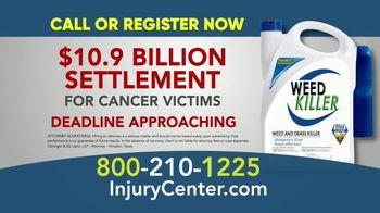 Danziger & De Llano TV Spot, '$10.9 Billion Settlement for Cancer Due to Weed Killer' - Thumbnail 9