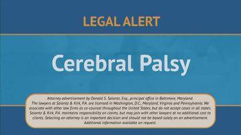 Saiontz & Kirk, P.A. TV Spot, 'Children With Cerebal Palsy' - Thumbnail 2