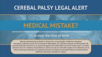 Saiontz & Kirk, P.A. TV Spot, 'Children With Cerebal Palsy' - Thumbnail 3