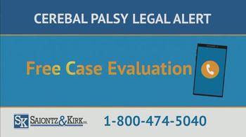 Saiontz & Kirk, P.A. TV Spot, 'Children With Cerebal Palsy' - Thumbnail 4