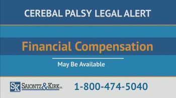 Saiontz & Kirk, P.A. TV Spot, 'Children With Cerebal Palsy' - Thumbnail 5