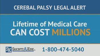 Saiontz & Kirk, P.A. TV Spot, 'Children With Cerebal Palsy' - Thumbnail 8