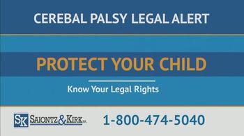 Saiontz & Kirk, P.A. TV Spot, 'Children With Cerebal Palsy' - Thumbnail 9