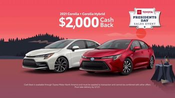 Toyota Presidents Day Sales Event TV Spot, 'Cherry Tree: Camry and Corolla' [T2] - Thumbnail 4