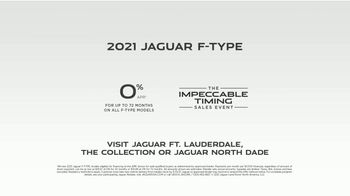 Jaguar Impeccable Timing Sales Event TV Spot, 'Meditative State' Featuring Canaan O'Connell [T2] - Thumbnail 9