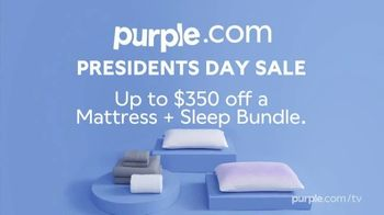 Purple Mattress President's Day Sale TV Spot, 'Mattress With a Memory: Up To $350 Off' - Thumbnail 9