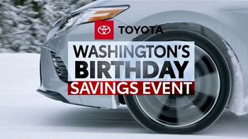 Toyota Washington's Birthday Savings Event TV Spot, 'Prius Prime' [T2] - Thumbnail 1