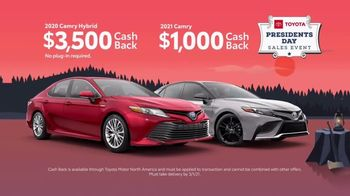 Toyota Presidents Day Sales Event TV Spot, 'Boat Selfie: Camry' [T2] - Thumbnail 6