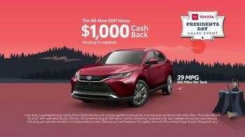 Toyota Presidents Day Sales Event TV Spot, 'Lincoln's Bicycle: Sienna and Venza' [T2] - Thumbnail 5