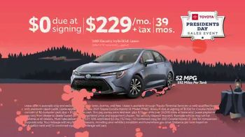 Toyota Presidents Day Sales Event TV Spot, 'Lincoln's Bicycle: Sienna and Venza' [T2] - Thumbnail 6