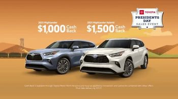 Toyota Presidents Day Sales Event TV Spot, 'Boat Selfie: Highlander' [T2] - Thumbnail 5