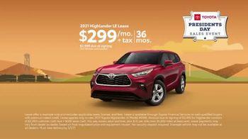 Toyota Presidents Day Sales Event TV Spot, 'Boat Selfie: Highlander' [T2] - Thumbnail 7