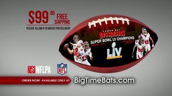 Big Time Bats TV Spot, 'Buccaneers Super Bowl LV Champions Art Football' - Thumbnail 8