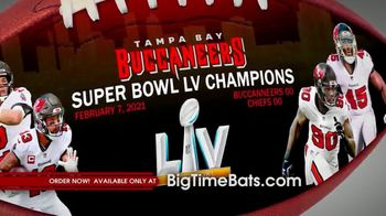 Big Time Bats TV Spot, 'Buccaneers Super Bowl LV Champions Art Football' - Thumbnail 2