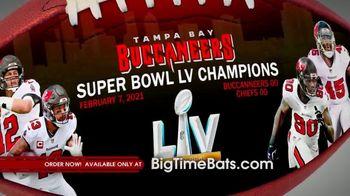 Big Time Bats TV Spot, 'Buccaneers Super Bowl LV Champions Art Football' - Thumbnail 3