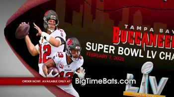 Big Time Bats TV Spot, 'Buccaneers Super Bowl LV Champions Art Football' - Thumbnail 4