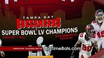 Big Time Bats TV Spot, 'Buccaneers Super Bowl LV Champions Art Football' - Thumbnail 5