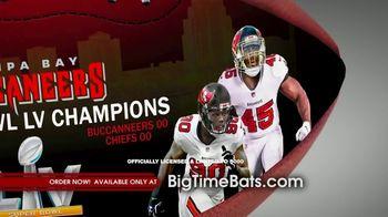 Big Time Bats TV Spot, 'Buccaneers Super Bowl LV Champions Art Football' - Thumbnail 6