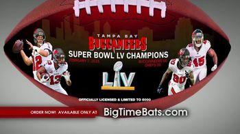 Big Time Bats TV Spot, 'Buccaneers Super Bowl LV Champions Art Football' - Thumbnail 7
