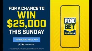 FOX Bet Super 6 TV Spot, 'Six Race Outcomes: $25,000' - Thumbnail 5