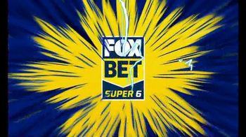 FOX Bet Super 6 TV Spot, 'Six Race Outcomes: $25,000' - Thumbnail 1