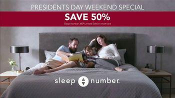 Sleep Number Ultimate Sleep Number Event TV Spot, 'Snoring: Presidents Day Weekend' - Thumbnail 6