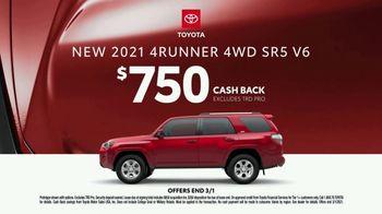 2021 Toyota 4Runner TV Spot, 'Dear Snowboard' [T2] - Thumbnail 5