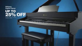 Guitar Center Presidents Day Sale TV Spot, 'Sterling Monitors and Williams Pianos' - Thumbnail 6