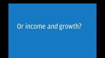 J. P. Morgan Asset Management JEPI TV Spot, 'Equity Premium Income: Income and Growth'