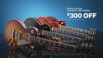 Guitar Center Presidents Day Sale TV Spot, 'Gibson Guitars and Alesis E-Kit'